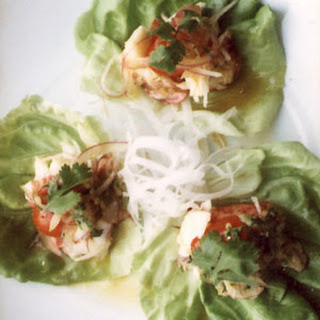 Lobster Ceviche with Limestone Lettuce
