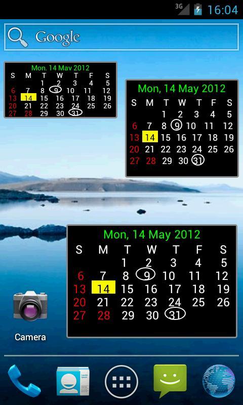 AU Holiday Calendar 2015 - screenshot