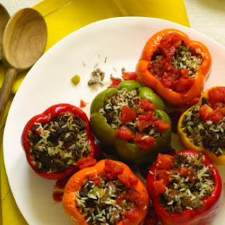 The Best Stuffed Peppers With Variations.