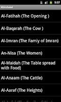 Screenshot of القرآن الكريم  All-Qaris