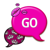 GO SMS THEME/PrincessKisses1