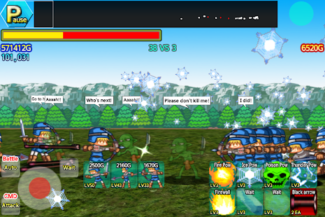 Castle Wars Defense EX- screenshot thumbnail