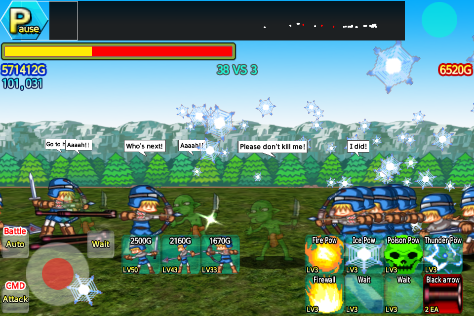 Castle Wars Defense EX- screenshot