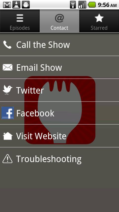 The Sporkful Official App - screenshot