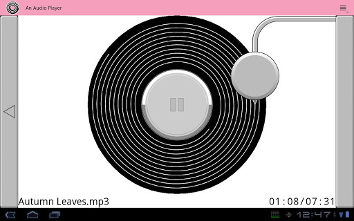 An Audio Player