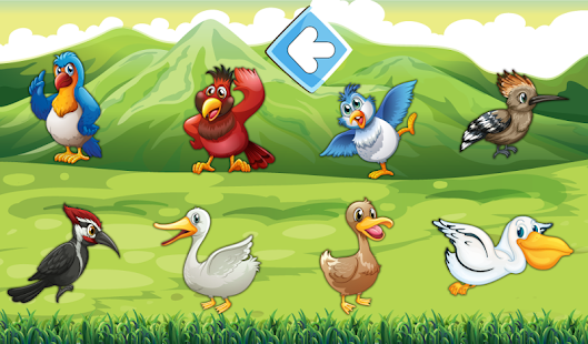 Animated puzzles birds- screenshot thumbnail