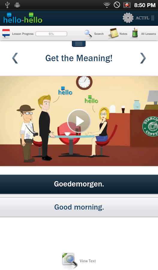 Dutch Hello-Hello (Tablet) - screenshot