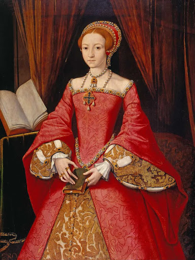 Elizabeth I when a Princess (1533-1603)