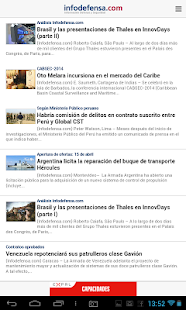 Infodefensa América- screenshot thumbnail