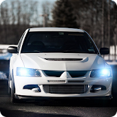 Mitsubishi Evo 9 Wallpaper 3D