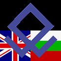 Bulgarian English Dictionary logo