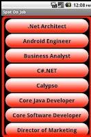 Screenshot of Spot On Job