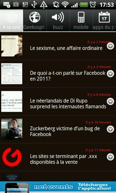Geeko Mobile- screenshot