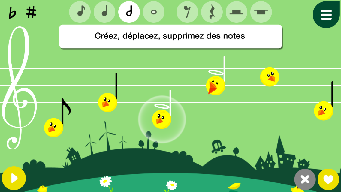 Music4Kids – Capture d'écran