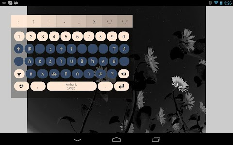 Amharic Keyboard Plugin screenshot 2
