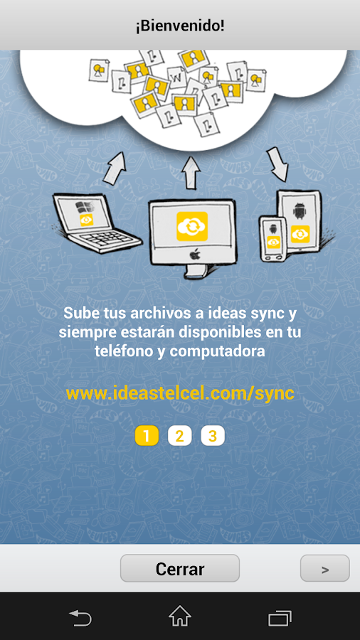 Ideas Sync – 5GB Gratis - screenshot