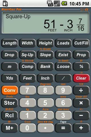 HeavyCalc Pro Calculator - screenshot