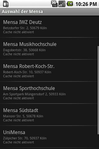 Studentenfutter - screenshot