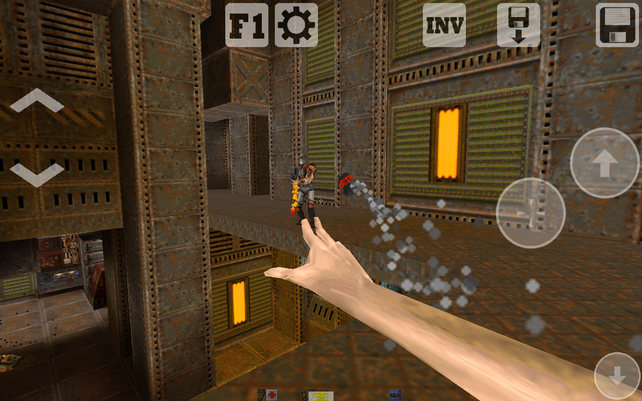 Quake 2 Touch - screenshot