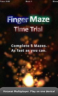 Finger Maze - screenshot thumbnail