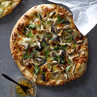 Truffled Mushroom Pizza.