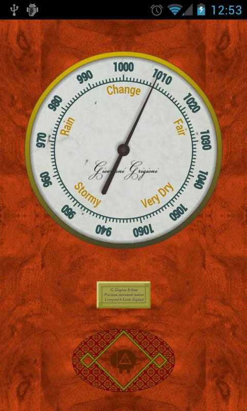 Vintage Barometer (Network) - screenshot