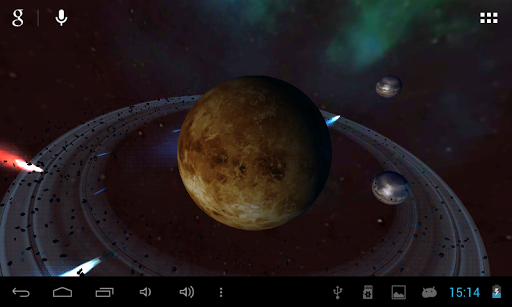 玩個人化App|GYROSCOPIC 3D DEEP SPACE LWP免費|APP試玩