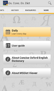 Concise Oxford English- screenshot thumbnail