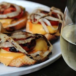 Animal-Style Grilled Cheese Bruschetta.