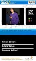 Screenshot of Trivia Quiz Música
