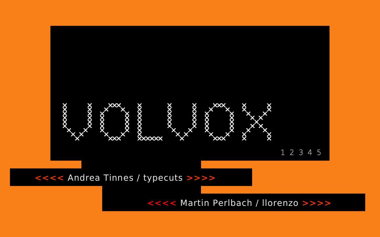 Volvox- screenshot