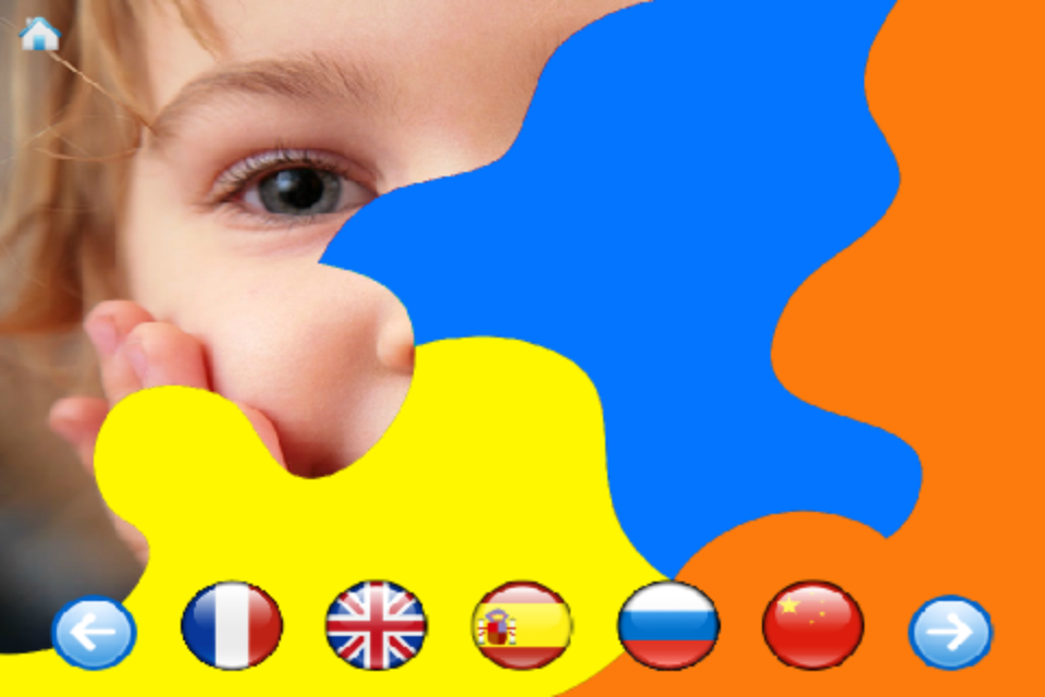 Baby discovers languages- screenshot