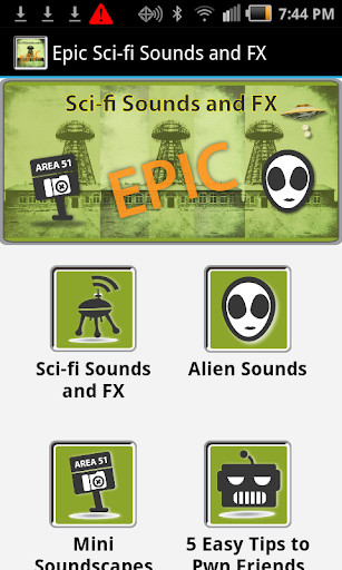 Epic Sci-fi Sounds and FX