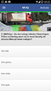 iKörkort Lite - screenshot thumbnail