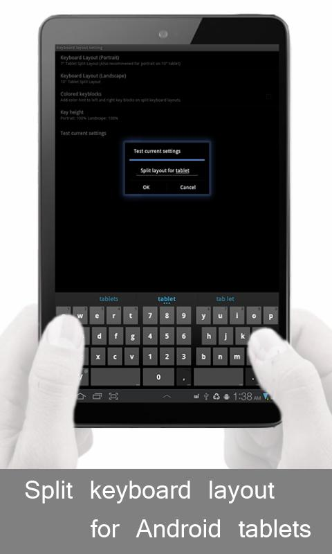 Jelly Bean Keyboard PRO- screenshot