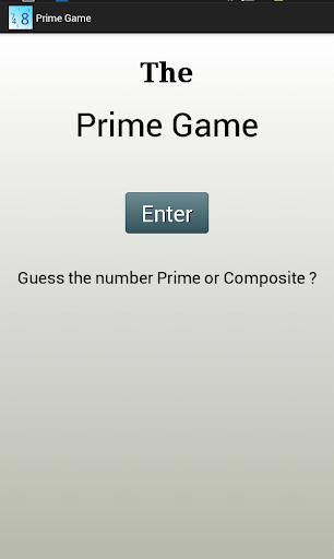 Prime Game