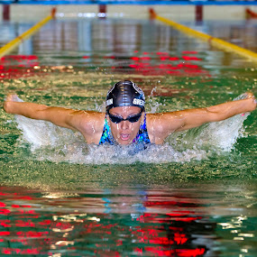 Flight over water by Flavian Savescu - Sports & Fitness Swimming (  )