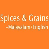 Spices and Grains in Malayalam