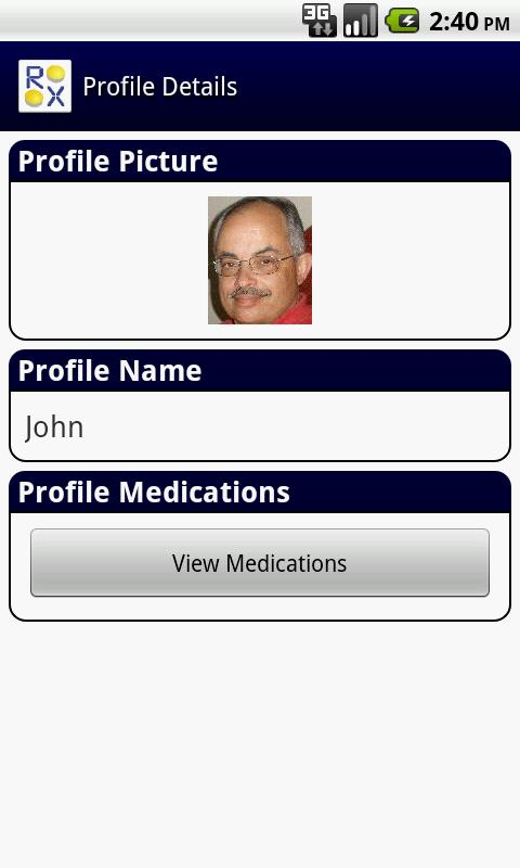 RX Pal Family Pill Minder Free - screenshot