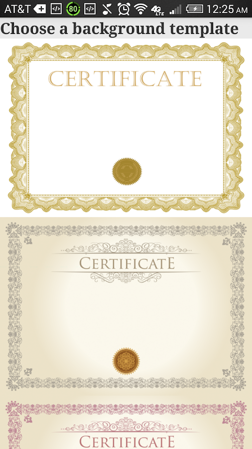 Certificate Maker Pro Android Apps on Google Play – Certificate Template Maker