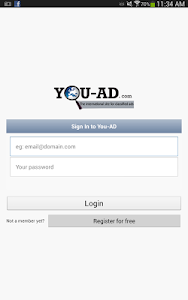 Ads online; You-AD.com screenshot 1