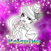 Monster Club Coloring for Kids