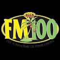 KCCN FM100 logo