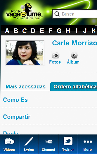Carla Morrison Blue Fan - screenshot