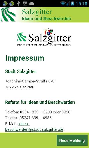 Melde-App Stadt Salzgitter