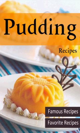 Pudding Recipes desserts