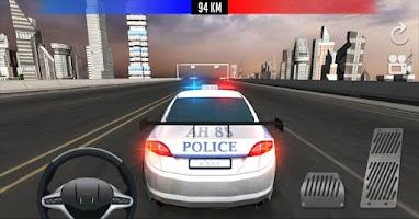 Screenshot of Police Car Driver