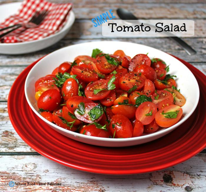 Simple Tomato Salad Recipe