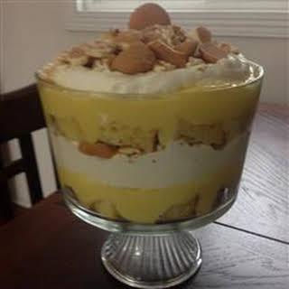 Banana Trifle.