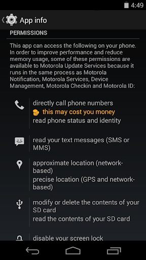 Motorola Update Services - screenshot